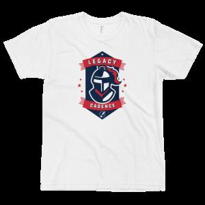LTS Cadence Knights White Logo T-shirt 2020